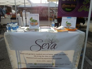 Seva Health partners with  32nd Street Farmer's Market, Baltimore City MD