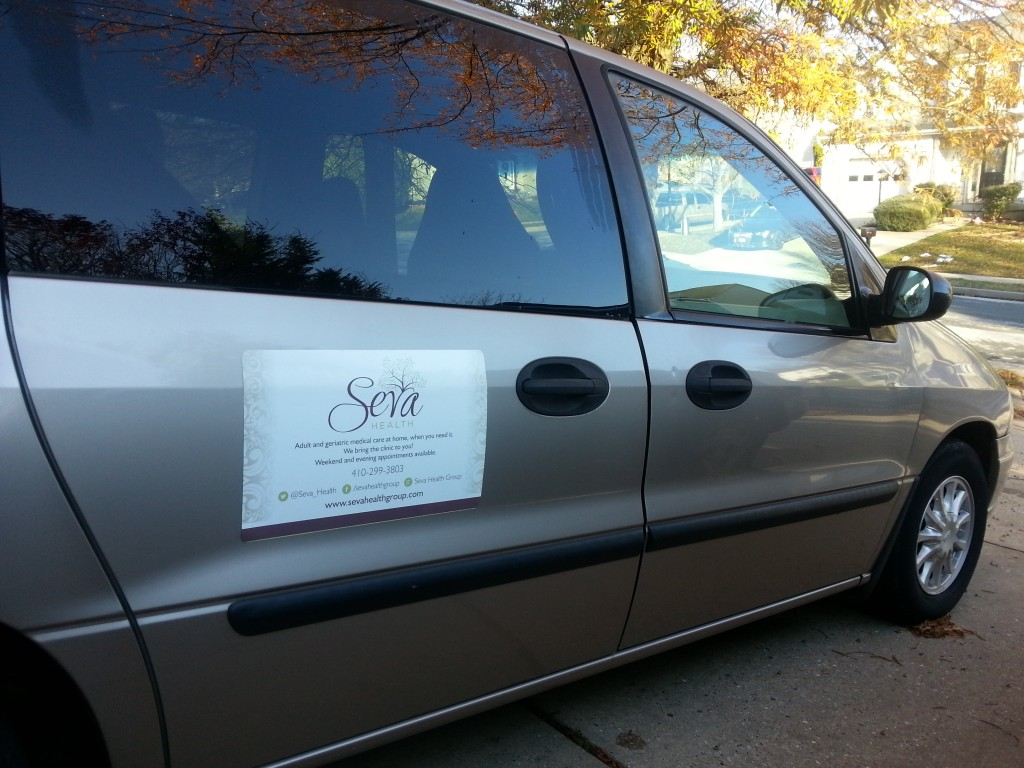 The Seva Van arrives!  December 2015.